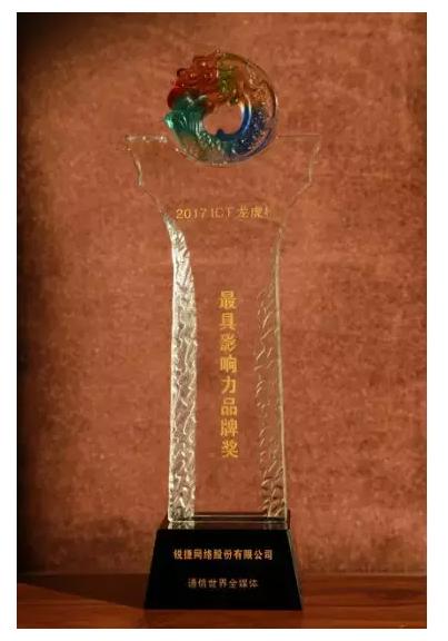 最具影响力品牌奖